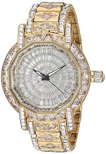 Adee Kaye Men's AK8195-MSV Marvel-X Collection Analog Display Swiss Quartz Gold Watch