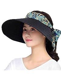 MioCloth Women Big Brim Visor Cap Sun Hat UV Protection SPF50+ for Golf Beach Outdoor