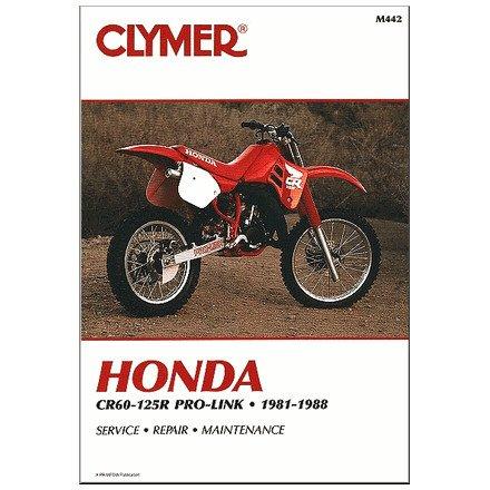81-88 HONDA CR125: Clymer Service Manual (Repair Honda Manual Cr80 Service)