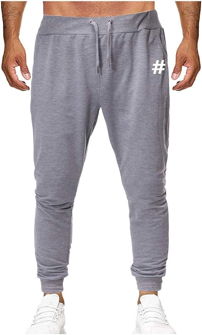 Hommes Pantalon Mode Fermeture Éclair Poche Solide Jogging Grande Taille Sweat