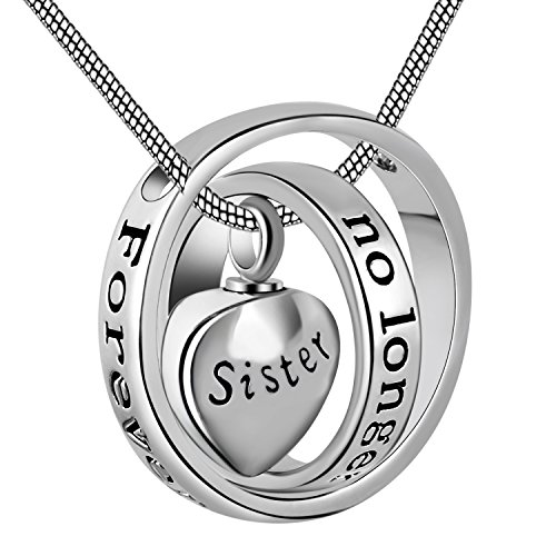urn heart locket - 1