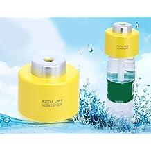 FOME Smart and Fashionable bottle cap humidifier ventilator humidifier decorative portable USB mini humidifier Yellow + FOME Gift