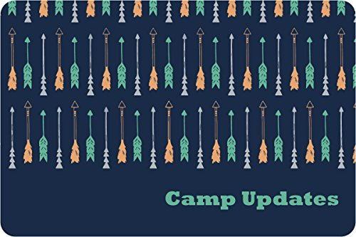 "Drawn Arrows Camp Postcards | Kid Postcards | Camp Stationery | 6"" X 4"" Postcards for Kids"