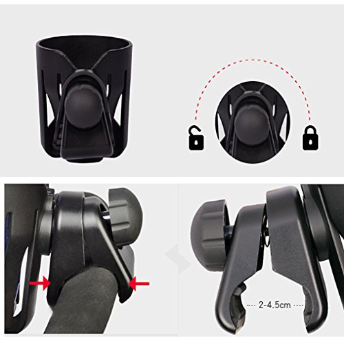 Lightweight Stroller Cup Holder Universal For Milk Water Pushchair Carriage by Khannika (Image #3)