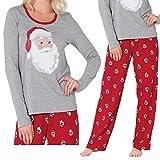 Family Matching Pajamas Set Women Baby Kids Sleepwear Nightwear Gifts Christmas Pajamas Set (Women, Asian L/US S)