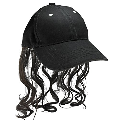 Billy Ray Hat With Brown Hair! Bed Head, Don't Care! Now You Have The Perfect Hat To Cover The -