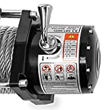 LD12-PRO-Electric-Heavy-Duty-Recovery-Winch-12000-lbs-Capacity-Wired-Remote-Control-by-Driver-Recovery-Products