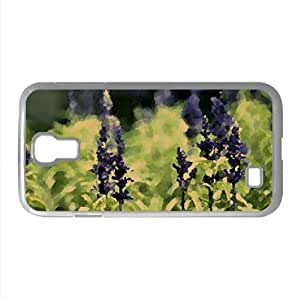 Inflorescence Watercolor style Cover Samsung Galaxy S4 I9500 Case (Flowers Watercolor style Cover Samsung Galaxy S4 I9500 Case)