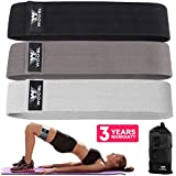 WOOSL Resistance Bands for Legs and Butt,Walito Exercise Bands Hip Bands Wide Booty Bands Workout Bands Sports Fitness Bands Stretch Resistance Loops Band Anti Slip Elastic (2019 Upgrade)