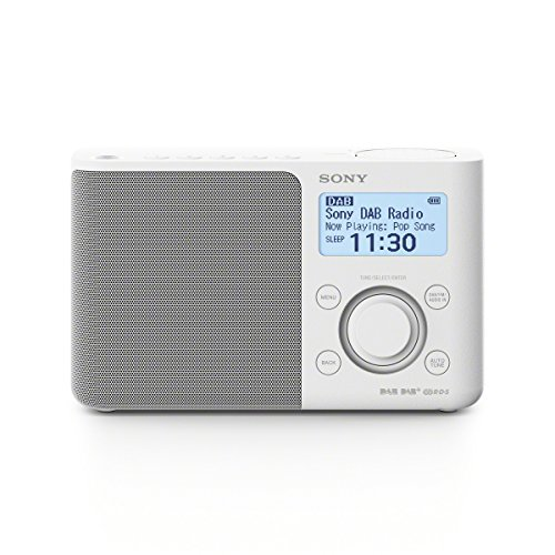 Sony XDR-S61D Portable Digital Radio Sound - White