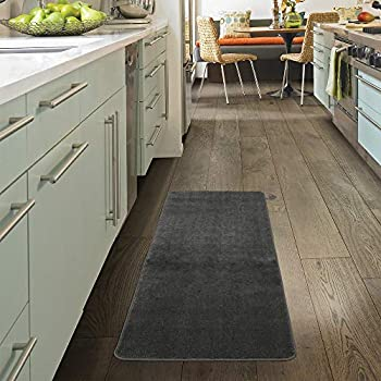 2fb8bb6916c Softy Collection Grey Color Solid Mat Rug Plain Soft Quality Bath Mats  Washable Rubber Back Toilet Rugs 20