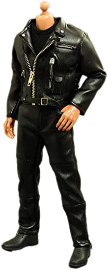 ASTOYS 1//6 Trend Punk Motor Leather Clothing Costume Set Fit 12/'/' Muscular Body