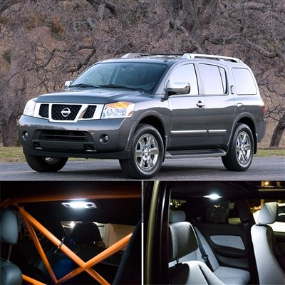 Amazon Com 2005 2013 Nissan Armada Interior Light Kit License