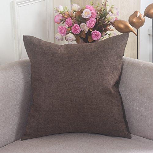 Brilliant Linen Square Cushion Pillow