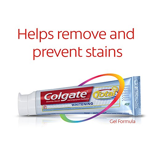 Colgate Total Whitening Toothpaste, Gel - 7.8 ounce (3 Pack) by Colgate (Image #5)