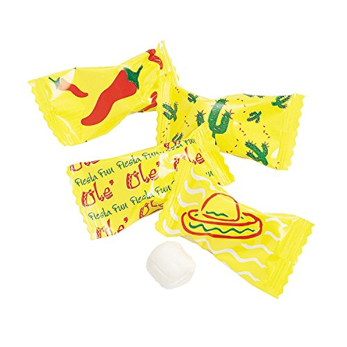 Mexican Fiesta Buttermint Candy Favors (Approx. 108 Pcs. Per Unit) 14oz.