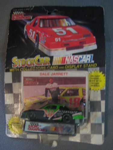 Racing Champions Dale Jarrett #18 die cast with card and stand by Racing -