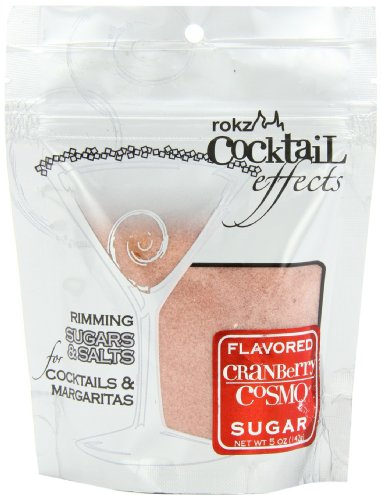 Rokz Cranberry Cosmo Cocktail Sugar, 5 Ounce