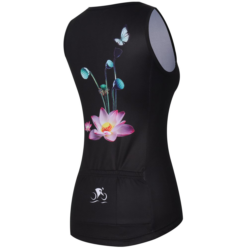 ZM Cycling Sleeveless Jersey Vest Women/Bicycle Cycle summer Vest Women/Breathable Bike Vest Sleeveless (XL, 3) by ZM (Image #3)