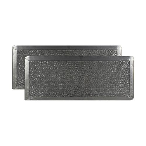 2 PACK Air Filter Factory 5'' X 12-1/2'' X 3/32'' Range Hood Aluminum Grease Filters AFF97-M by Air Filter Factory