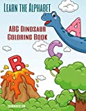 Learn the Alphabet - ABC Dinosaur Coloring Book