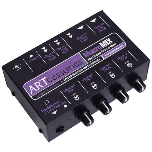ART MacroMIX Mini Mixer (Stereo Mini Mixer)