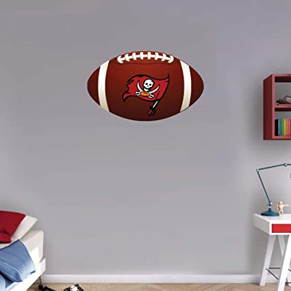 home wall of.htm amazon com sport tampa bay buccaneers flag nfl logo ball art wall  tampa bay buccaneers flag nfl logo ball