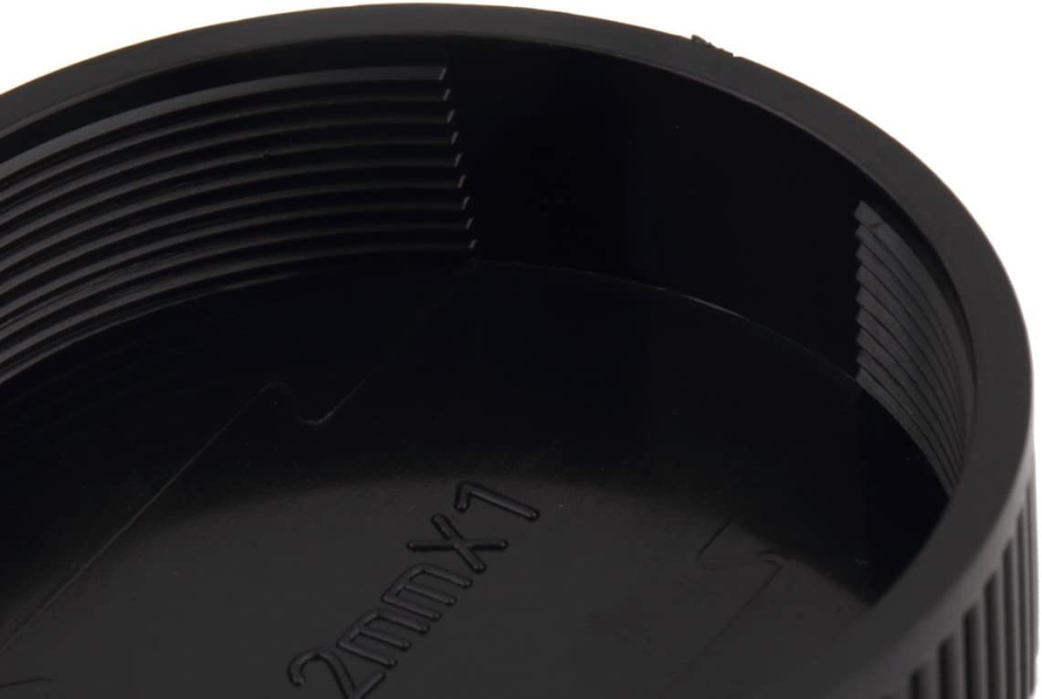 Kongqiabona-UK 10 St/ück hintere Objektivkappe Schutz Staub Objektiv Deckel f/ür alle M42 Schraube Kamera Tragbare Kunststoff Objektiv Staubkappen