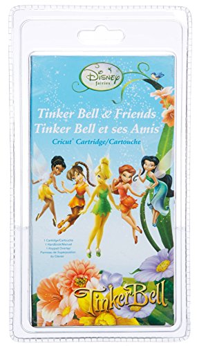 Cricut Disney Cartridge, Tinker Bell & Friends by Provo Craft & Novelty/ Cricut by Provo Craft