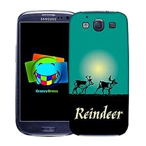 BRALEXX 9313# _ Samsung _ S3_ Deer _ 5–Carcasa para Samsung Galaxy S3