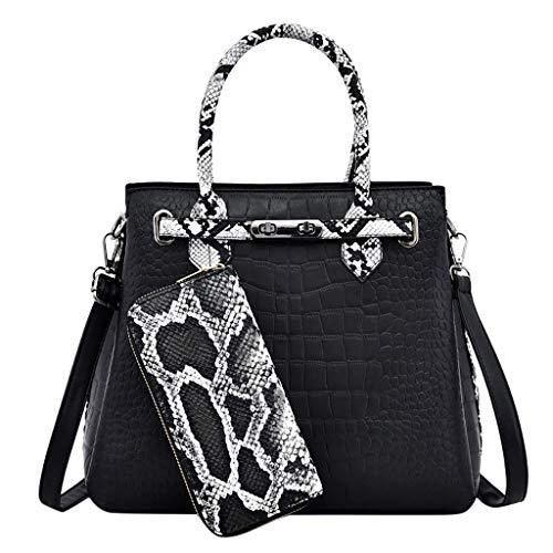(LUXISDE Women's Fashion Handbag Wallet Large Handbag Shoulder Bag Handbag Large Capacity)