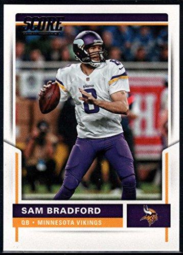 Football NFL 2017 Score #232 Sam Bradford Vikings