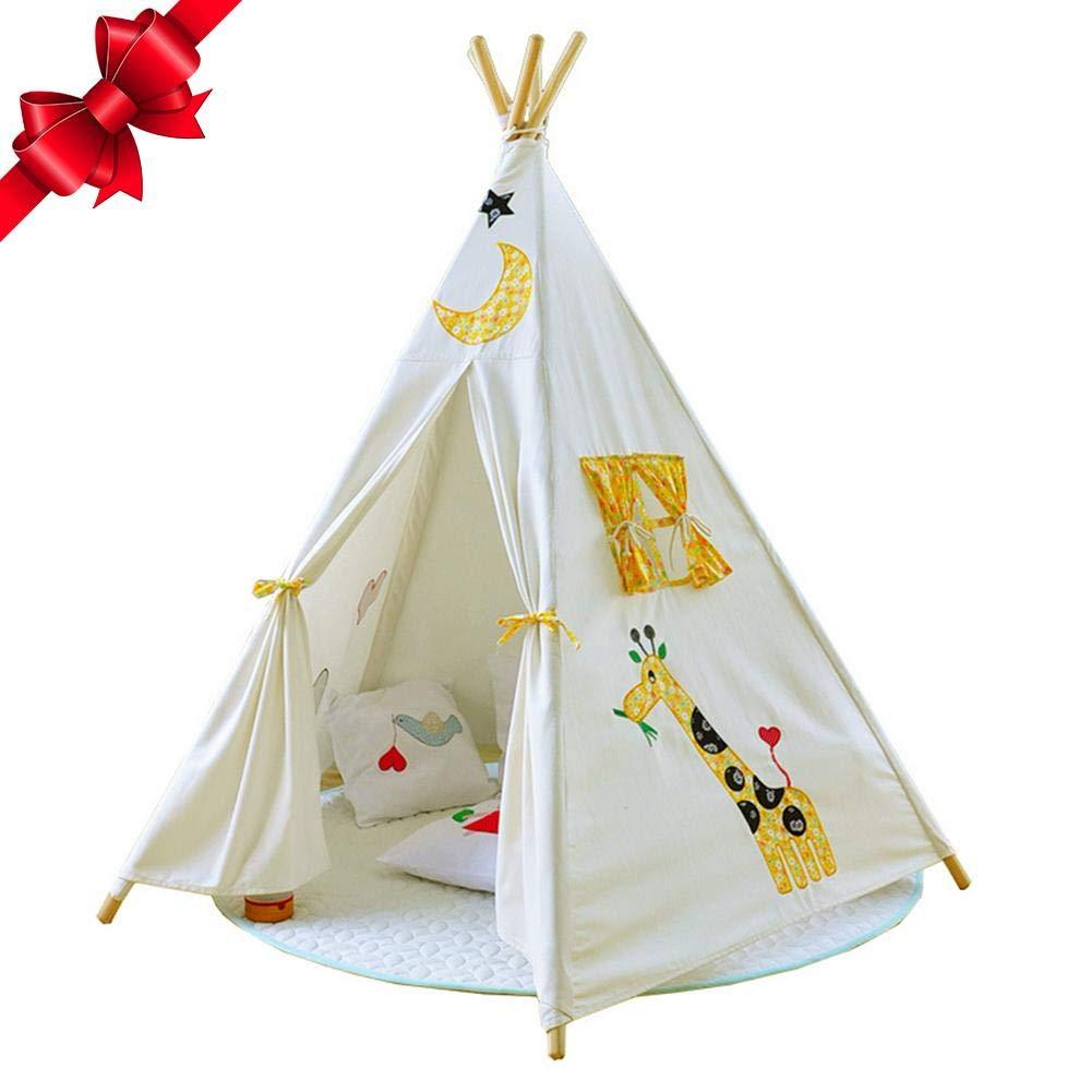 Depruies Indoor Kinderzelt Spielhaus Packen Baby Kletterzelt Indoor Spielzimmer Kids Tipi Kinder Spielzelt, N, K
