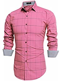 Amazon.com: Pinks - Casual Button-Down Shirts / Shirts: Clothing ...