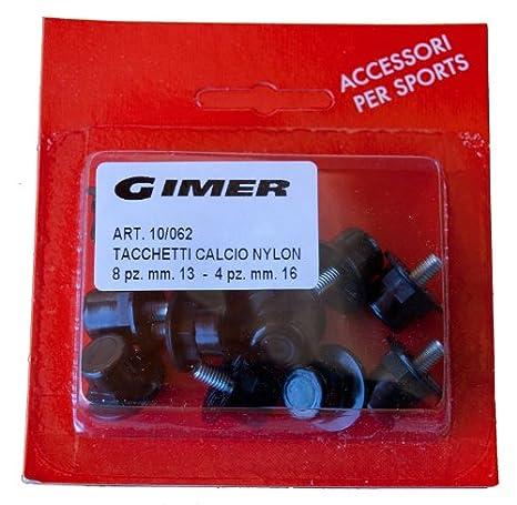 GIMER TACCHETTI NYLON 8 13 - 4 16 BLISTER 12PZ  Amazon.it  Sport e ... a496365ba9d