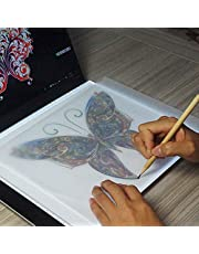 3.5W 5V LED USB Three Level of Brightness Dimmable A4 Acrylic Scale Copy Boards Anime Sketch Drawing Sketchpad Durable