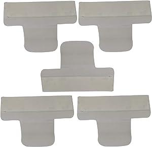 HIFROM 154701001 Dishwasher Splash Shield Guard Kit Repace for AP4338941 PS2203346 (5pcs)