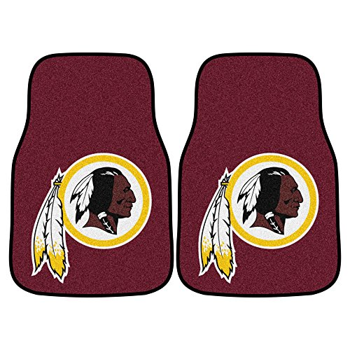 FANMATS NFL Washington Redskins Nylon Face Carpet Car - Piece Washington Mlb Nationals 2