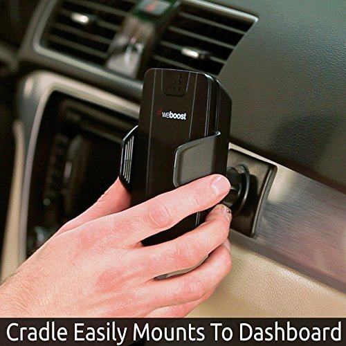 weBoost Drive 3G-S Cell Phone Signal Booster Cradle Mount Holder for Car, Truck and RV Use – Enhance Your Signal up to 32x. For Single Device. by weBoost (Image #3)