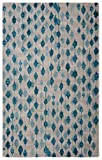 Cheap Rugsmith Pendant Modern Area Rug, 5′ x 7′, Blue