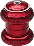 Image of Chris King NoThreadset Headset - 1in Sotto Voce Red, 1in