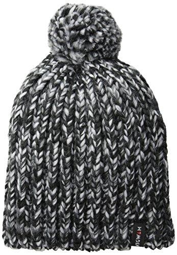 Wigwam Men's Infinity Pom Hat, Zebra, One Size ()
