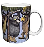 Where the Wild Things Are Max Hanging from a Tree (Maurice Sendak) Childrens Literary Decorative Ceramic Gift Coffee (Tea, Cocoa) 11 Oz. Mug
