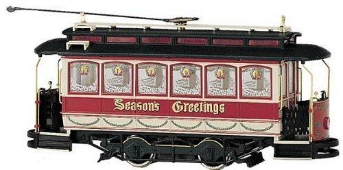 - On30 Spectrum Street Car, Christmas by Bachmann Trains