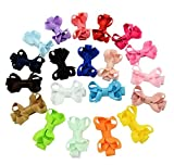 Royarebar Diverse Styles Hair Decorations 20PCS Baby Girl Vintage Hair Decorations Child BOE Tie Hair Clips