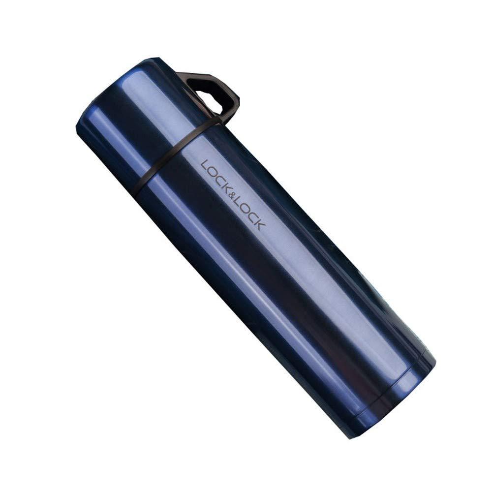 Xue-zhenghao - Cup Tragbare Kessel Mit Großer Kapazität Wasser Cup Wärmflasche Tragbare Kessel Mit Großer Kapazität Wasser Cup Kochen,Sapphire Blau