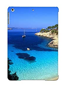 Ascendingnr Shock-dirt Proof Cala Salada, Ibiza Case Cover Design For Ipad Air - Best Lovers' Gifts