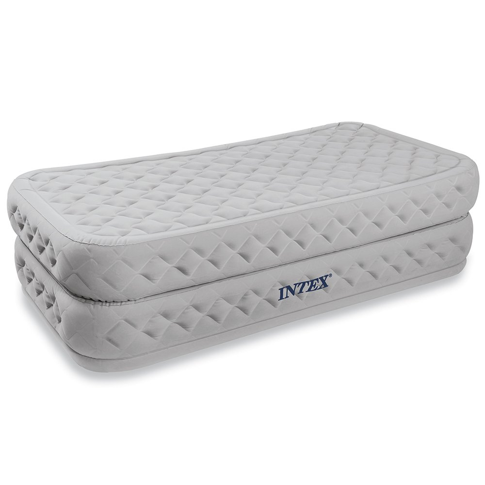 Intex Supreme Air-Flow Airbed with Built-in Electric Pump, Twin review