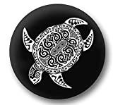 Jeep Spare Wheel Tire Cover [Wrangler Accessories] UV Resistant, Heavy Duty - Personalized with Sea Turtle - fits Grand Cherokee, Liberty, Renegade, SUV (28/29' (215/75R16), (225/60R15), (255/75R15))