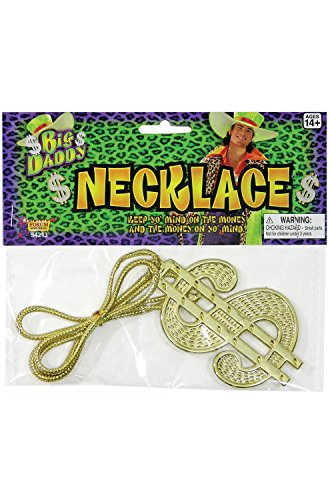 Necklace Dollar Sign Jumbo